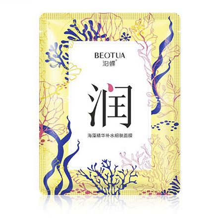 Купить BEOTUA, Маска для лица с морскими водорослями и бобами мунг, 25 г