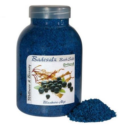 Camillen 60, Соль укрепляющая, Badesalz Blaubeere&Alge, 1350  г
