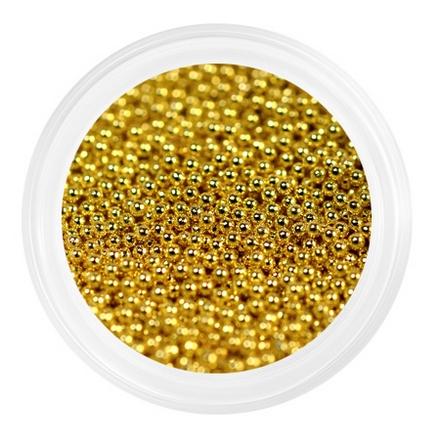 Купить Patrisa Nail, Бульонки металлические мелкие 0, 6 мм, золотые