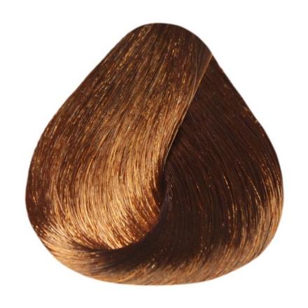 Estel, Краска-уход 6/43 De Luxe, темно-русый медно-золотистый, 60 млКраски для волос<br>Краска-уход из серии De Luxe в оттенке темно-русый медно-золотистый придает волосам насыщенный цвет, натуральную мягкость и сияющий блеск. Вы забудете о седине надолго.<br><br>Объем мл: 60.00