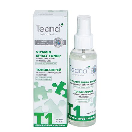 Teana, Тоник для лица T1, 125 мл фото