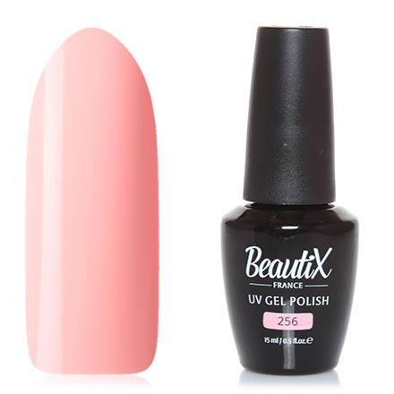 Beautix, Гель-лак №256, 15 млBeautix<br>Гель-лак (15 мл) кораллово-розовый, без перламутра и блесток, плотный.<br><br>Цвет: Розовый<br>Объем мл: 15.00