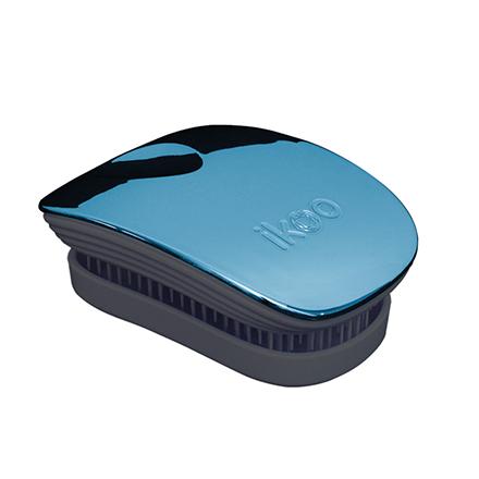 ikoo, Расческа Pocket, Black-pacific metallic