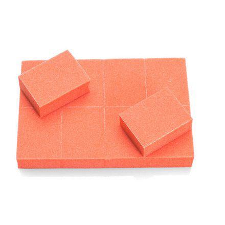 TNL, Баф mini оранжевый, 10 шт. tnl набор кистей 7 шт