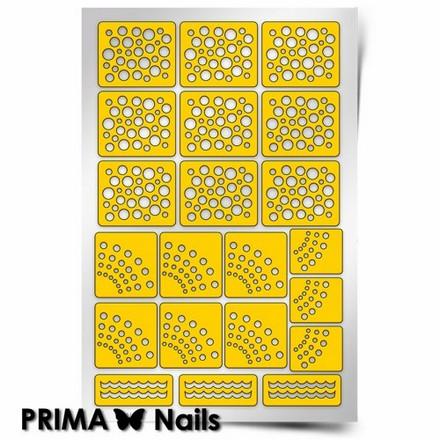 Prima Nails, Трафареты «Горошек»