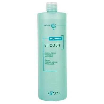 Kaaral, Шампунь Smooth Purify для вьющихся волос, 1000 мл kaaral кондиционер для вьющихся волос kaaral purify smooth conditioner 1234 3800 мл