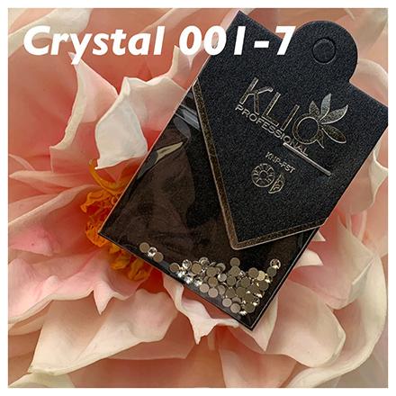 Klio Professional, Стразы Crystal №001, 2,1 ммСтразы для ногтей<br>Стеклянные стразы для дизайна ногтей, 62 шт.