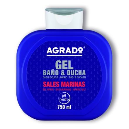 Agrado, Гель для душа «Морская соль», 750 мл фото