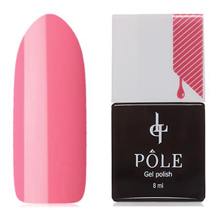 Купить POLE, Гель-лак №350, Розовый лепесток, Красный