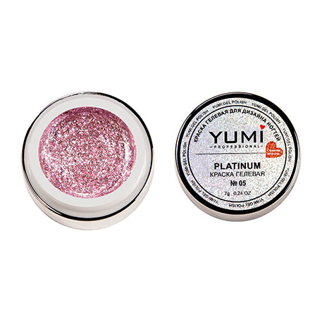 YMMY Professional, Краска гелевая Platinum №05