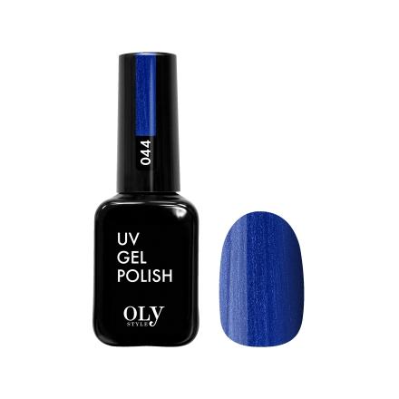 Купить Oly Style, Гель-лак №044, Синий