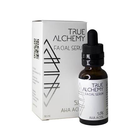 Купить True Alchemy, Сыворотка для лица AHA Acids 5.1%, 30 мл
