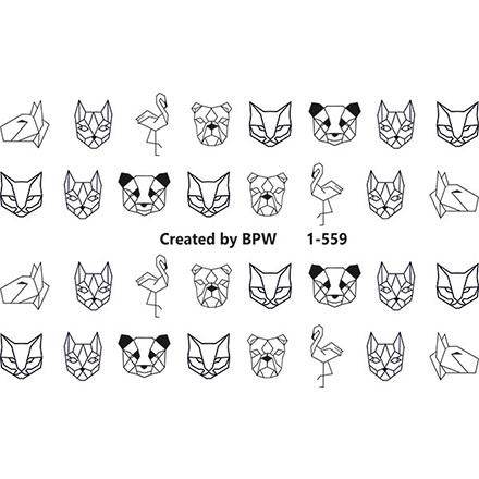 Купить BPW.Style, Слайдер-дизайн «Животные» №1-559