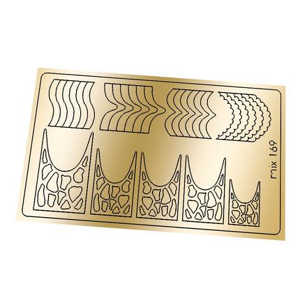 Купить Freedecor, Металлизированные наклейки №169, золото