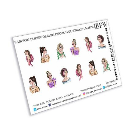 Купить BPW.style, Слайдер-дизайн «Девушки 2» №sd5-1876
