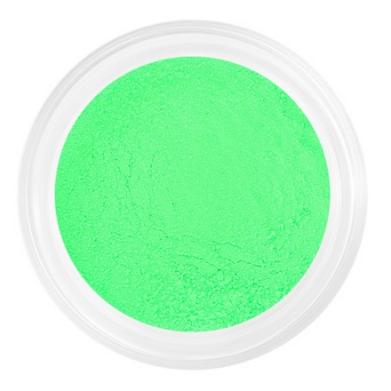 Patrisa nail, Пыльца для втирки №21, зеленая, неоновая