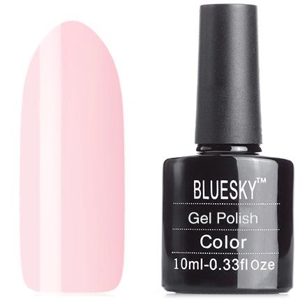 Bluesky, Гель-лак №40504/80504 RomantiqueBluesky Шеллак<br>Гель-лак (10 мл) бело-розовый, без блесток и перламутра, плотный.<br><br>Цвет: Розовый<br>Объем мл: 10.00