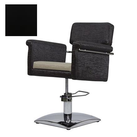 Купить Мэдисон, Кресло парикмахерское «МД-77А» гидравлическое, хромированное, черное