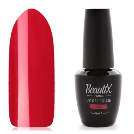Купить Beautix, Гель-лак №123, 15 мл, Wella Professionals, Красный
