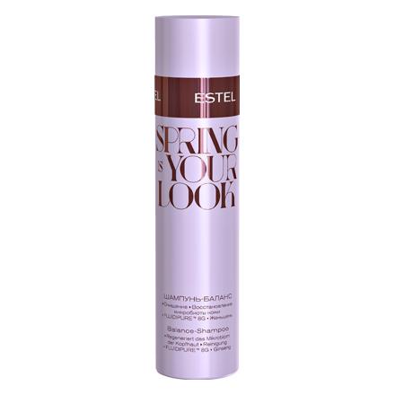 Estel, Шампунь-баланс Spring is your look, 250 млШампуни для волос<br>Шампунь бережно очищает и восстанавливает структуру волос, придавая им сияние и свежесть.<br><br>Объем мл: 250.00