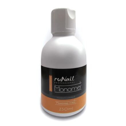 ruNail, Акриловая жидкость «Мономер плюс» (универсальный), 250 мл