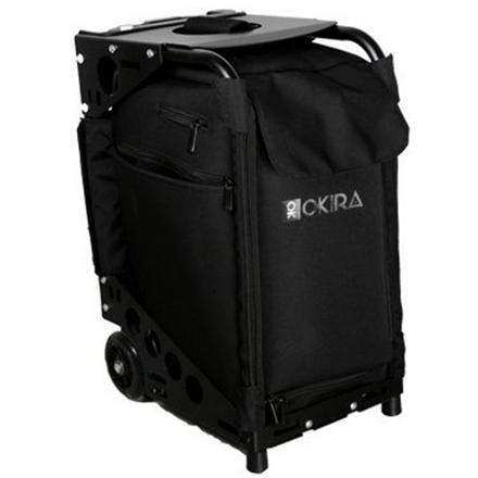 Купить OKIRO, Сумка-чемодан для визажиста Black, на колесах