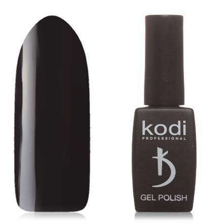 Kodi, Гель-лак №100BW, 8 млKodi Professional<br>Гель-лак (8 мл) черный, без перламутра и блесток, плотный. Прошлая серия: №170.