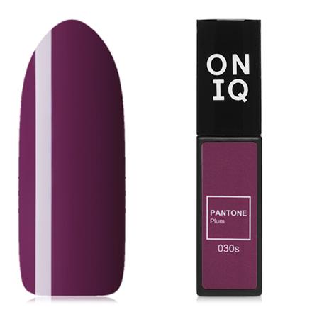 Купить ONIQ, Гель-лак Pantone №30s, Plum, Фиолетовый