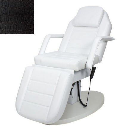 Купить Мэдисон, Косметологическое кресло «Элегия-03», черное, «крокодил»
