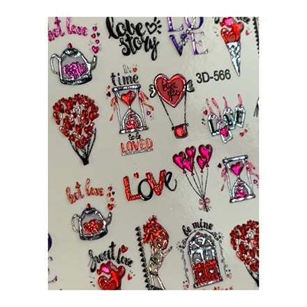 AnnaTkacheva,3D-слайдерCrystal№566 «Сердце. Любовь» фото