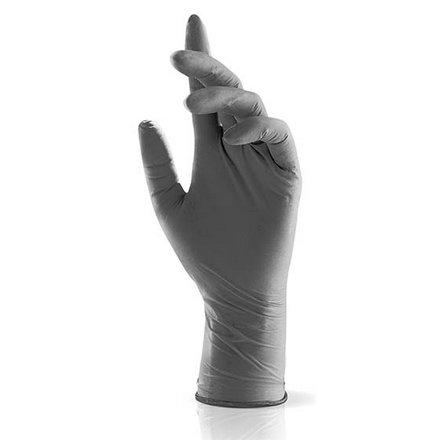Купить Nitrimax, Перчатки нитриловые серые, размер S, 100 шт.