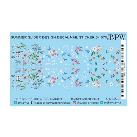 Купить BPW.style, Слайдер-дизайн «Мелкие цветы» №5-1570