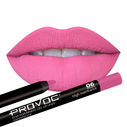 Provoc, Gel Lip Liner 06 High Maintenance, цвет малиновый