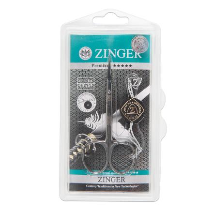 Zinger, Ножницы маникюрные Salon BS-307-S, загнутые узкиеНожницы<br>Ножницы маникюрные для обработки кутикулы. Длина режущих полотен: 2,1 см.