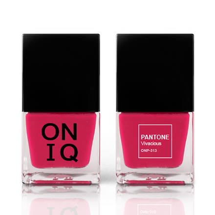 Купить ONIQ, Лак для ногтей Pantone, Vivacious, Wella Professionals, Розовый