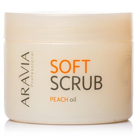 ARAVIA Professional, Скраб мягкий с маслом персика, 300 мл (ARAVIA PROFESSIONAL)