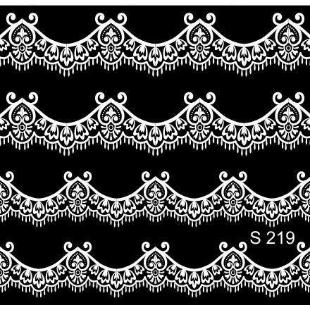 Milv, Слайдер-дизайн S219, белый