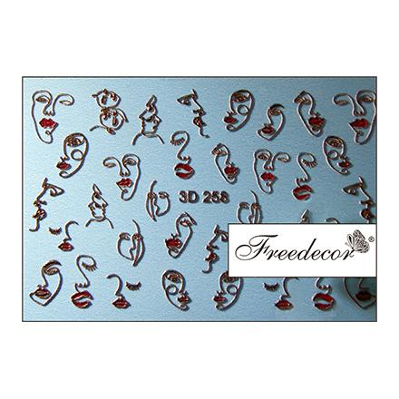 Купить Freedecor, 3D-слайдер №258
