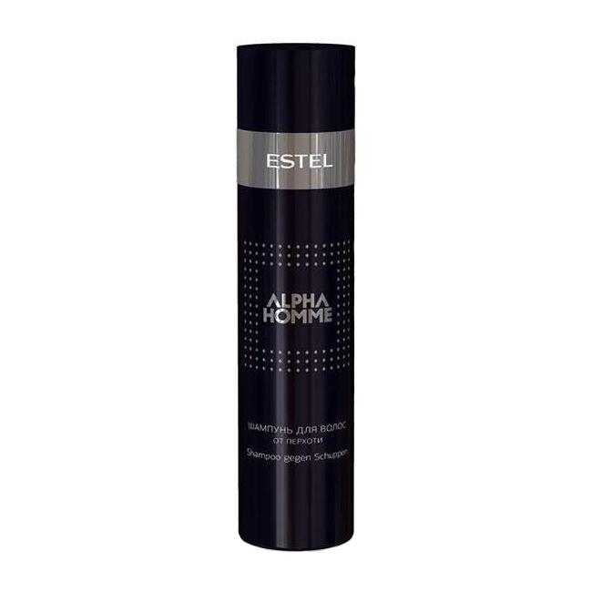 Estel, Шампунь Alpha Homme, от перхоти, 250 млШампуни для волос<br>Шампунь для мужчин поможет устранить перхоть навсегда, оказывает бактерицидное действие и регенерирует кожу головы.<br><br>Объем мл: 250.00