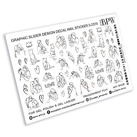 Купить BPW.Style, Слайдер-дизайн «Линии пары и кошки», №5-2370