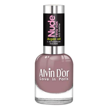 Купить Alvin D'or, Лак-гель Nude №14, Сиреневый