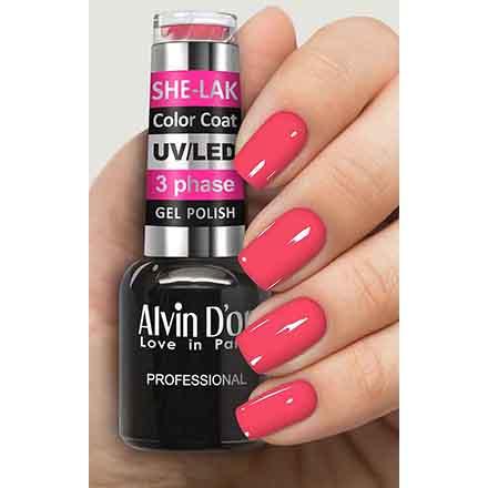 Купить Alvin D'or, Гель-лак №3551, Розовый