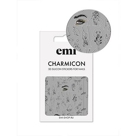 Купить EMI, 3D-стикеры Charmicon №173, Silhouettes