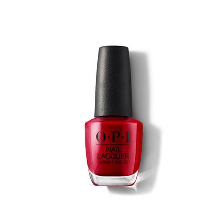Купить OPI, Лак для ногтей Classic, Red Hot Rio, Красный