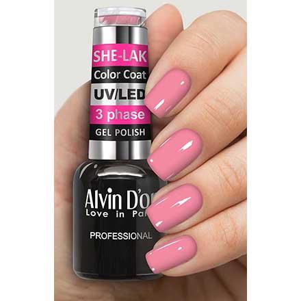 Купить Alvin D'or, Гель-лак №35104, Розовый