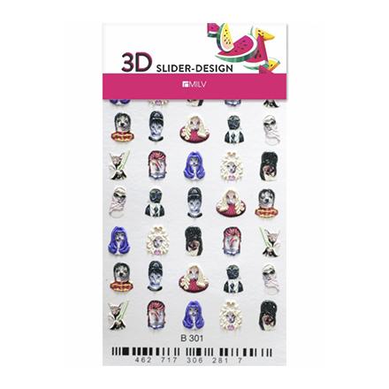 Купить Milv, 3D-слайдер B301