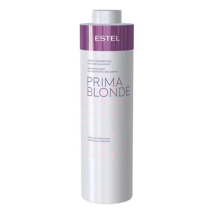 Estel, Блеск-шампунь Prima Blonde, для светлых волос, 1000 мл
