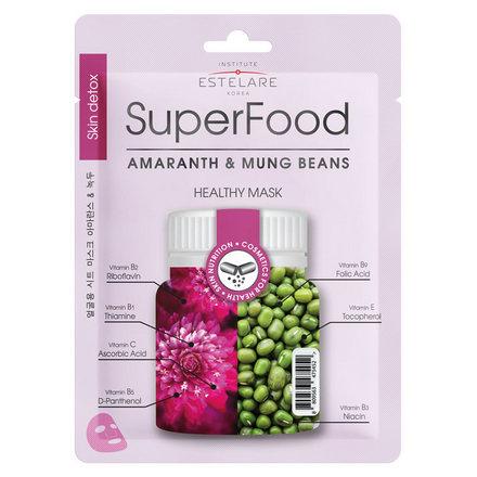 Купить Estelare, Маска для лица Superfood «Амарант и Бобы Мунг», 25 г