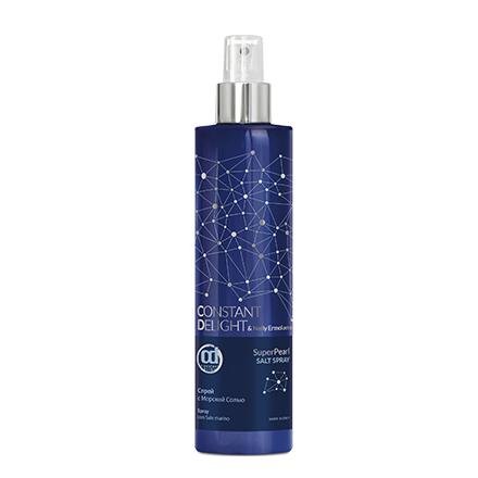 Constant Delight, Спрей Super Pearl, солевой, 250 млСпреи для волос <br>Спрей с морской солью структурирует, защищает и восстанавливает волосы.<br><br>Объем мл: 250.00