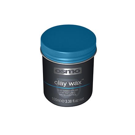 Osmo, Глина-воск для текстурирования волос Clay Wax, 100 млВоск для волос <br>Средство для сильной фиксации волос с матовым эффектом.